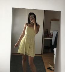 Zuta ljetna haljina