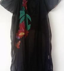 Desigual crna tunika bluza L NOVO