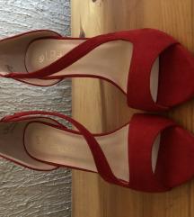 Crvene sandale 37 snizeno