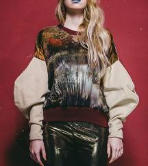 Zanimljiv OBEKEI sweatshirt, univerzalna veličina
