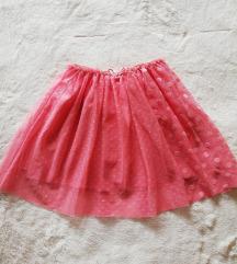H&M suknja , 122/128, nenošena