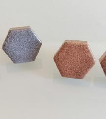 Naušnice od reciklirane keramike