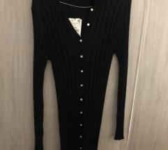 Nova pletena midi haljina s etiketom M/L