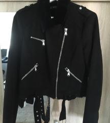 Zara jakna od brušene kože