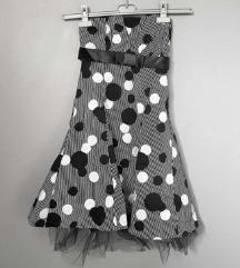 Točkasta pin up haljina