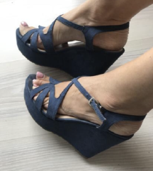 Plave sandale