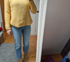 MANGO žuti pulover