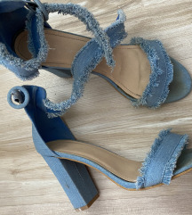 Sandale jeans 40