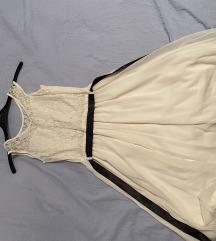 Prljavo bijela svečana haljinica