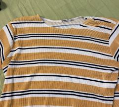 Cropped kratki rukav majica