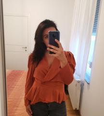 Zara satenska bluza