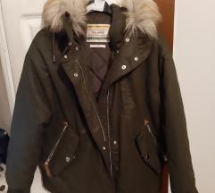 Nova maslinasta jakna