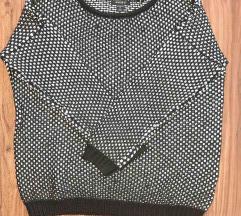Crno-bijeli džemper (NOVO!!!)
