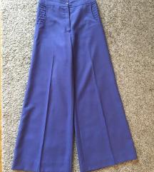 Vintage Plave široke hlače vel 36-38