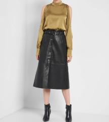 Orsay midi suknja od eko kože 34/36