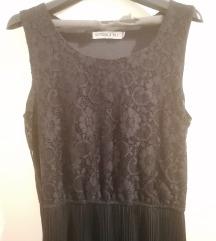 Duga crna haljina