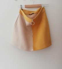 Nova Zara dvobojna suknja