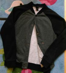 H&M muška duksa podstavljena jakna
