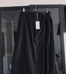 COS crna wrap suknja, nova s etiketom