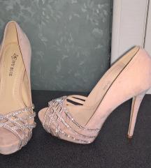 Roze elegantne sandale 39 besplatna dostava