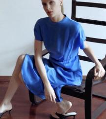 ZARA plava haljina NOVA