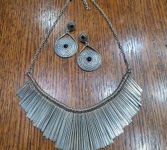 Ogrlica i naušnice (uklj. poštarina)