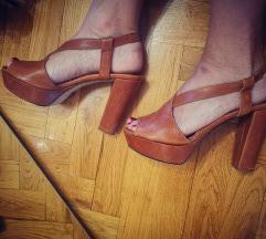 Max&co kožne sandale 🤎%%%