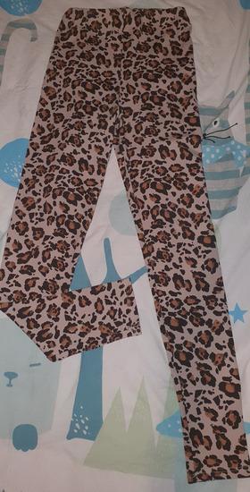 Zara leopard tajice visoki struk