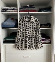 Massimo Dutti košulja, pamuk i svila