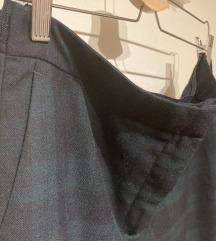 Karirane Zara hlače