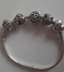 Pandora narukvica 18 cm