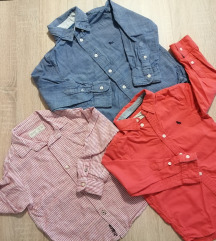 LOT košulje Zara/H&M 104-110
