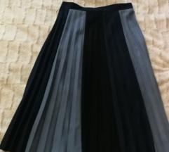 Zara plisirane suknja