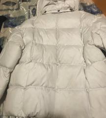 Bijela pernata jakna NOVO