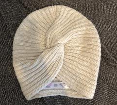 ASOS twist front knitted beanie kapa turban