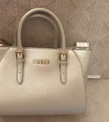 Guess srebrna torbica