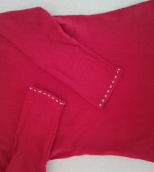 crvena akril lijepa majica