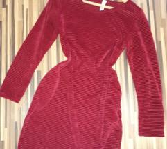 Bordo mekana nova haljina