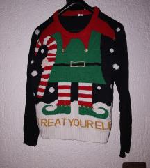 Bozicni džemper H&M