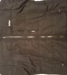 Crna muška zimska jakna