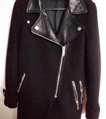 Crni Zara kaput vel.34/xs