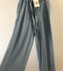 Zara paperbag cloutte hlace