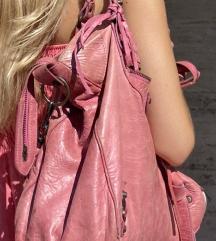 BALENCIAGA CITY VELO roza torba-ORIGINAL