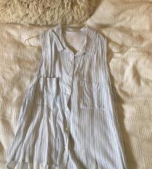 Zara košulja sa prorezom na leđima