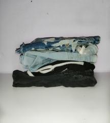 LOT kratkih hlača i traperica Zara, H&M...
