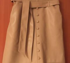 Orsay NOVA suknja od umjetne kože