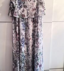 H&M ljetna dugačka haljina