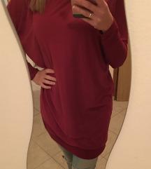 NOVA Bordo haljina tunika -%%
