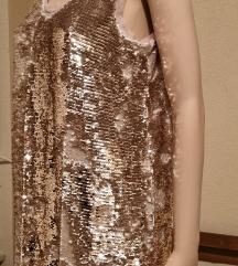 Haljina sa šljokicama Zara