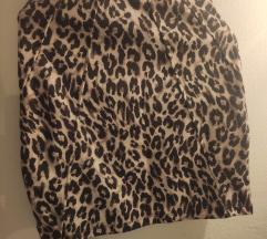 Mini leopard suknja